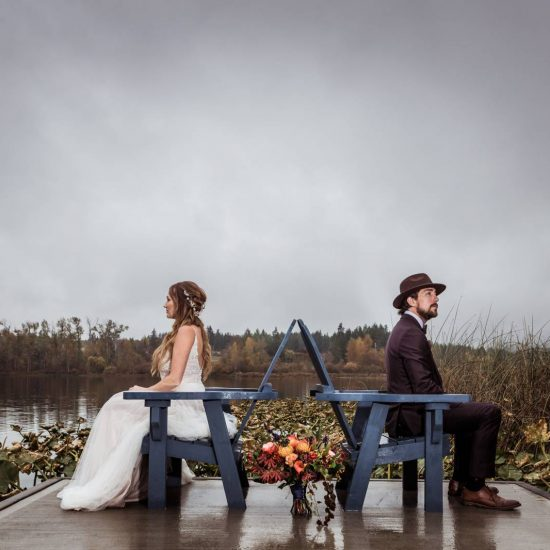 Vibrant Fall Colors Wedding Inspiration