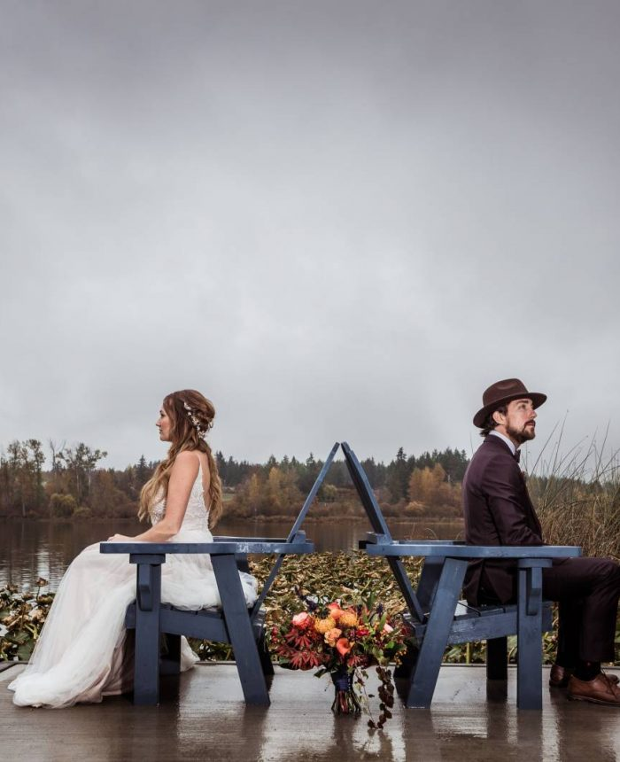 Vibrant Fall Colors Wedding Inspiration