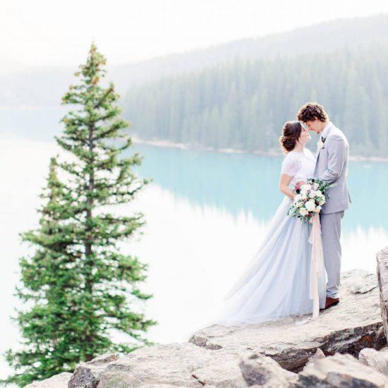 Light Blue and Lavender Wedding Inspiration