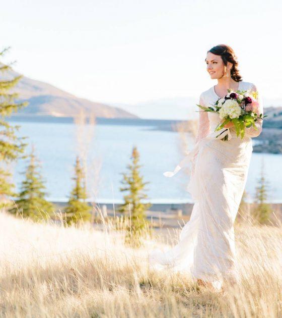 Pink Inspired Wedding Bridals