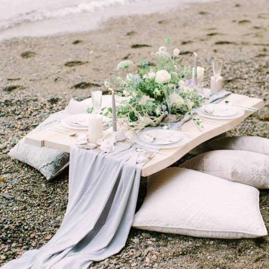 Elegant Seaside Wedding Inspiration
