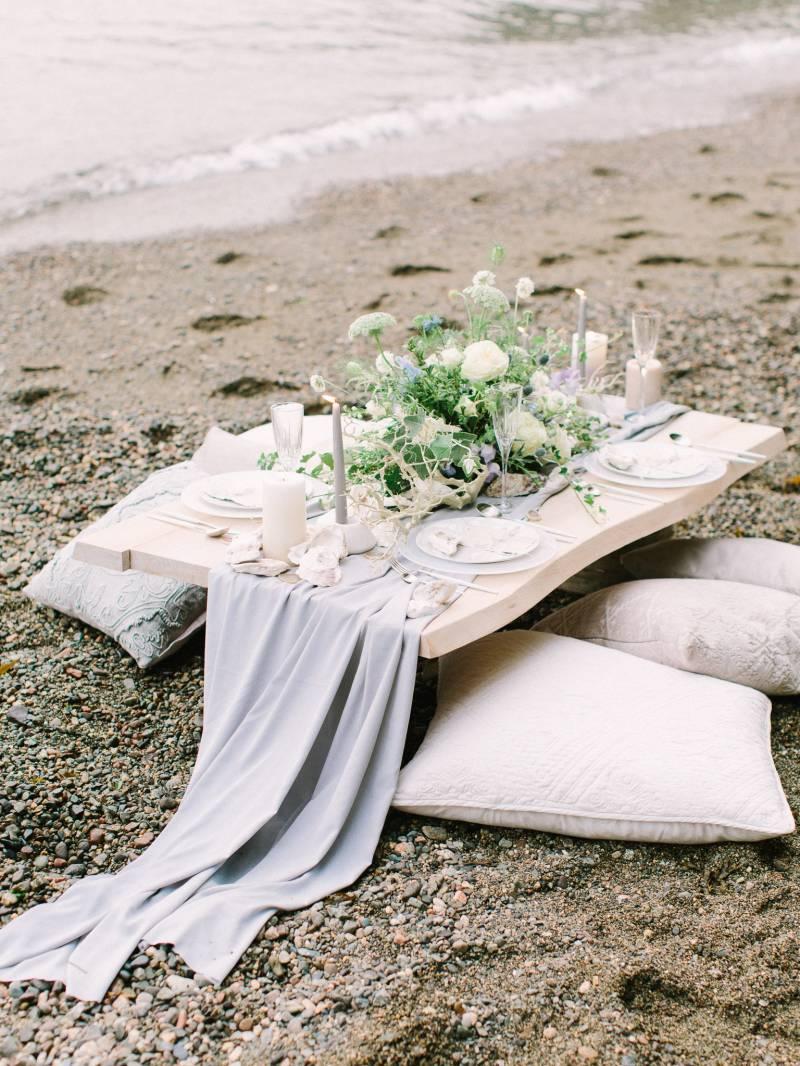Elegant Seaside Wedding Inspiration