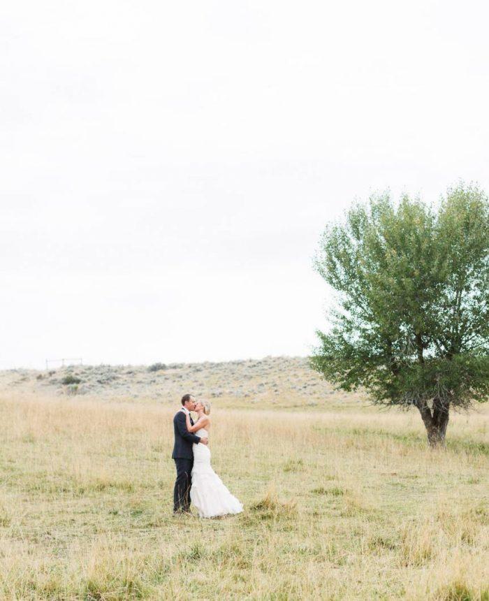 Open Range Wyoming Wedding