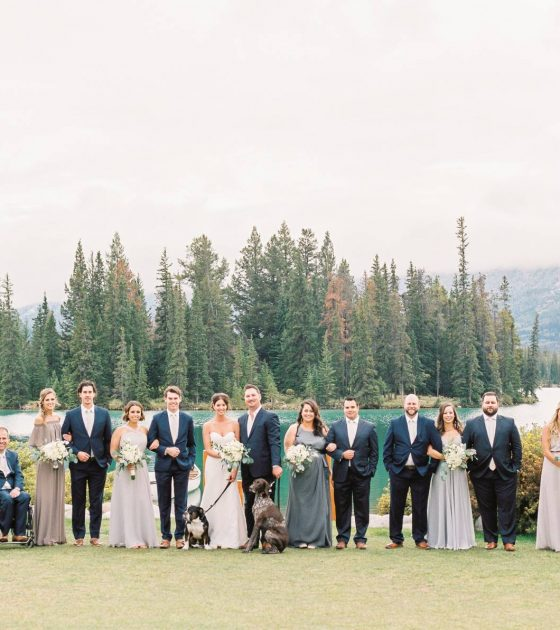 Fall Wedding at the Fairmont Jasper Park Lodge
