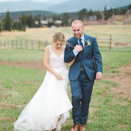 Rustic Spanish Peaks Wedding