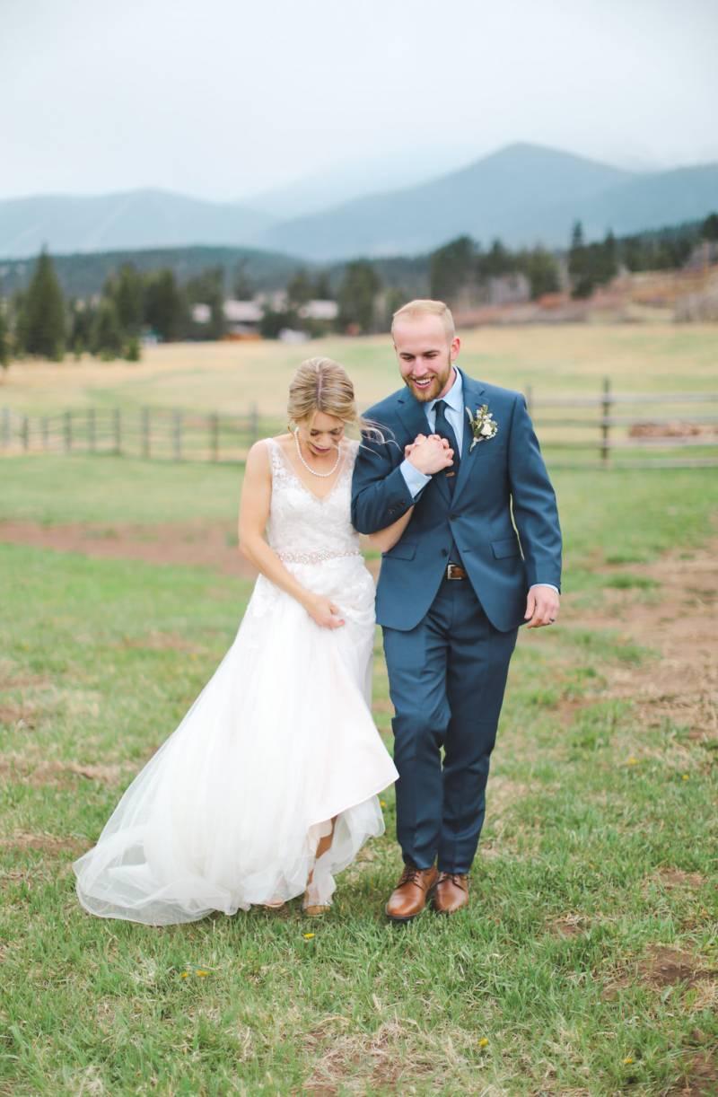 Rustic Spanish Peaks Wedding