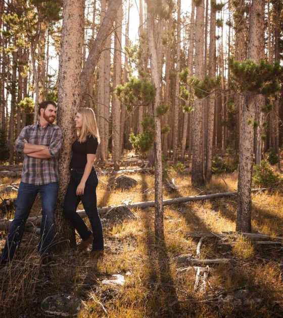 Southern Wyoming Engagement