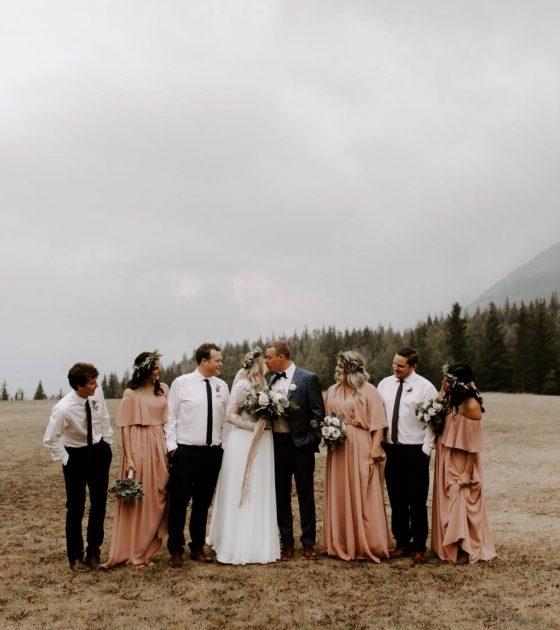 Pomeroy Kananaskis Mountain Lodge Summer Wedding