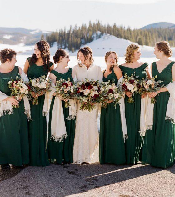 Keystone Winter Wedding at Ski Tip Lodge