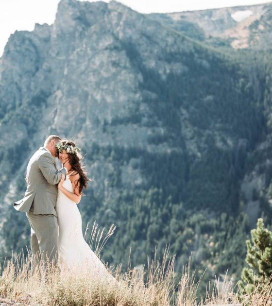 Beartooth Mountains Wedding
