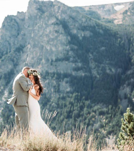 Beartooth Mountains Wedding
