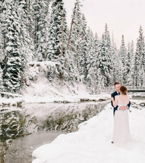 A Winter Wedding at Emerald Lake Lodge