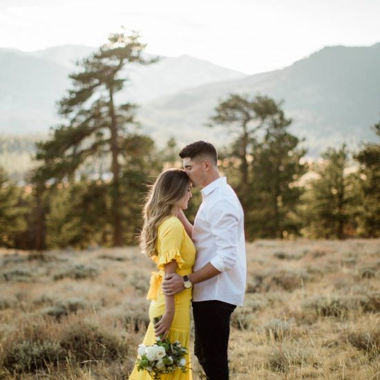 Rocky Mountain National Park Fall Engagements