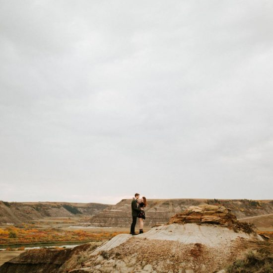 Autumn Drumheller Engagement