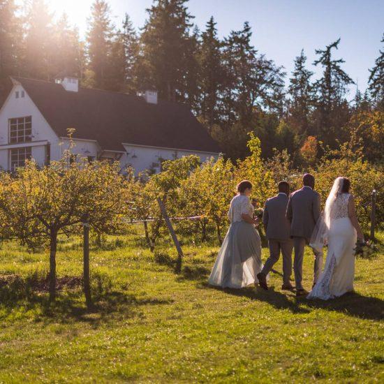 Fall Vancouver Island Wedding