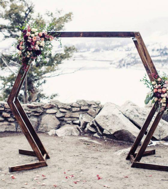 Snowy Breckenridge Elopement