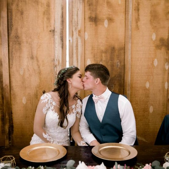 Sweet Montana Wildflower Weddings Ceremony