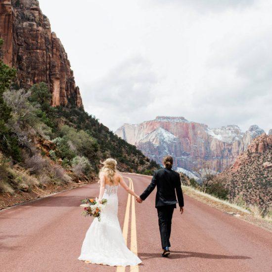 Intimate Destination Wedding in Zion
