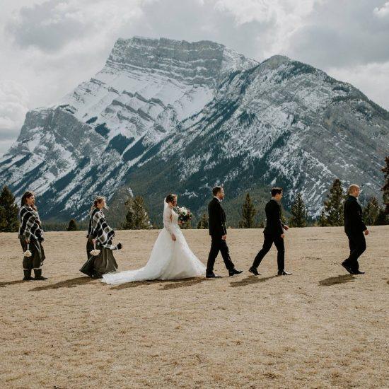 Sweet and Intimate Banff Wedding