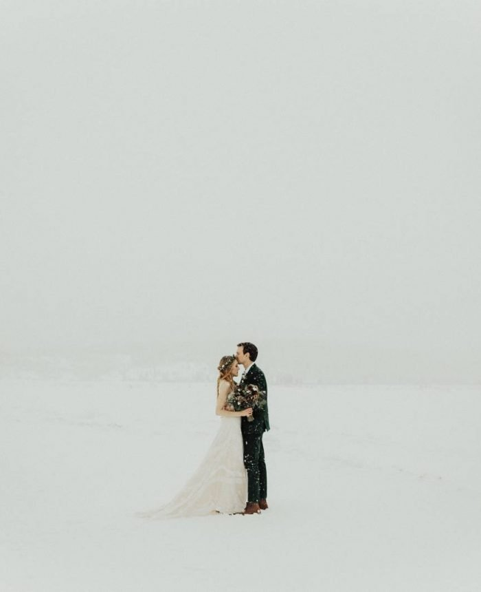 Winter Wonderland Elopement in Fraser Valley