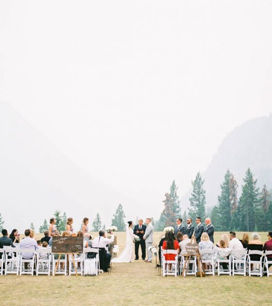 Tunnel Mountain Reservoir Wedding