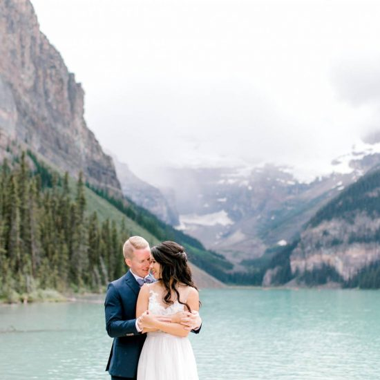 Mountain-Vineyard Inspired Wedding at Lake Louise