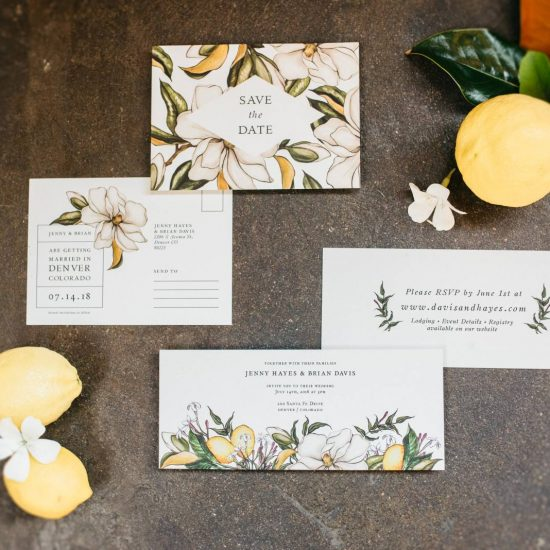 A Lemon Inspired Wedding at Moss Denver