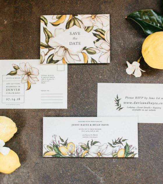 A Lemon Inspired Wedding at Moss Denver
