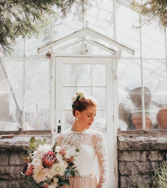 Garden Wedding at Blaylock Mansion