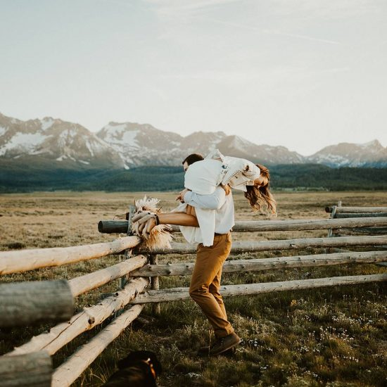 Rugged Sawtooth National Forest Elopement