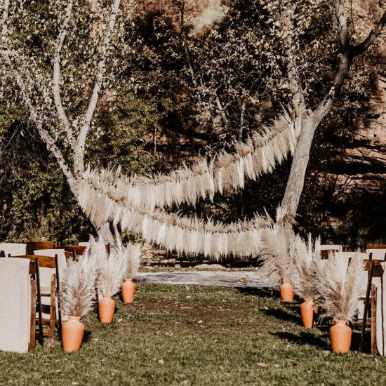 Autumn Wedding at Planet Bluegrass
