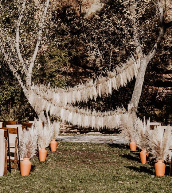 Autumn Wedding at Planet Bluegrass