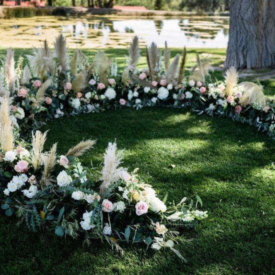 September La Mesita Ranch Wedding