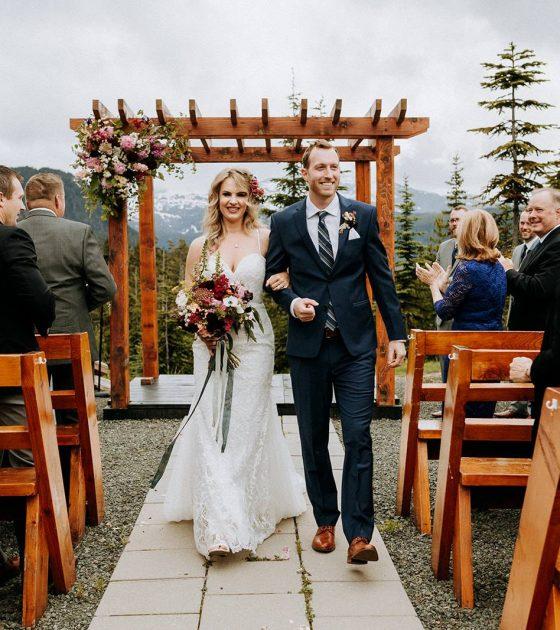 Summer Wedding at the Mount Washington Alpine Resort