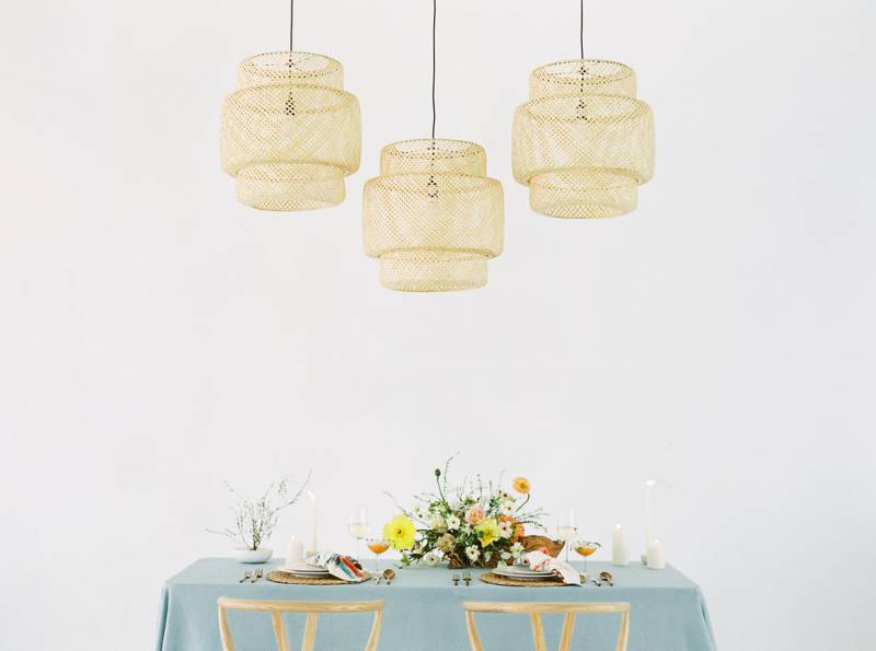 Airside Event Spaces Pastel Wedding Inspiration