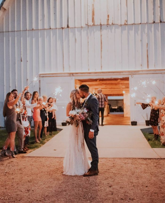 A Summer Wedding at The White Barn at Happy Valley