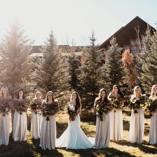 Crisp Fall Wedding Day at Devil's Thumb Ranch