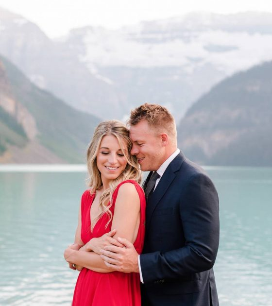Lake Louise Summer Engagement