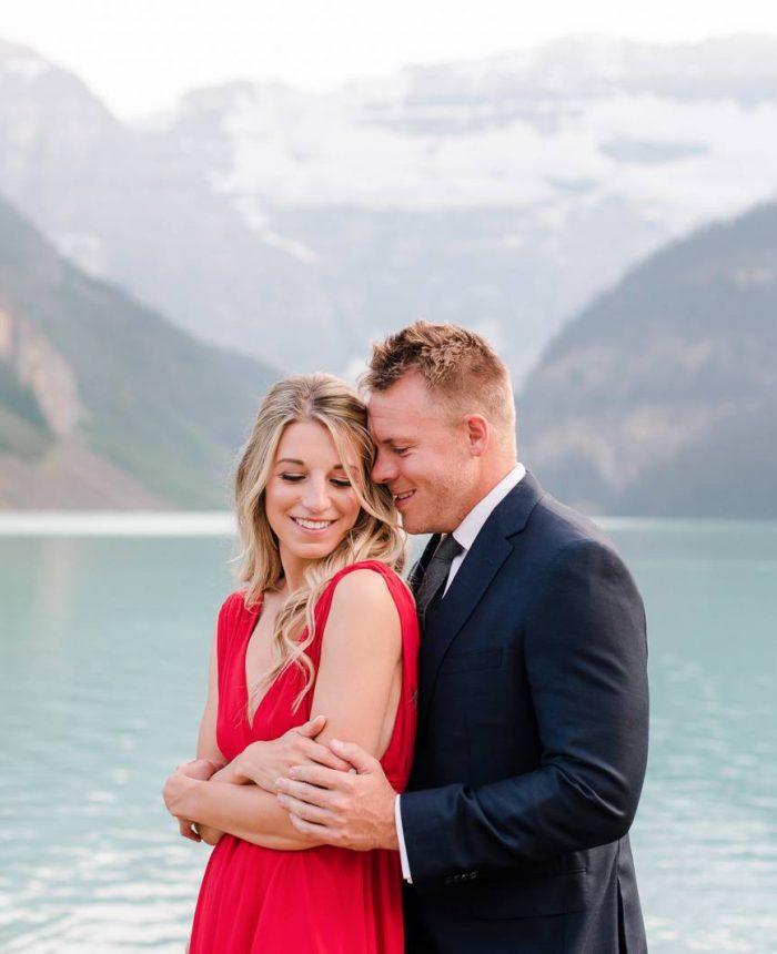 Lake Louise Summer Engagement