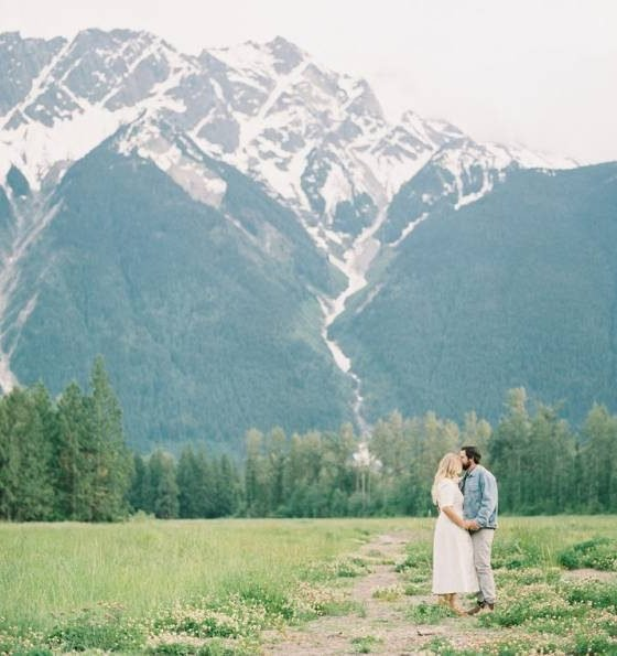 A Sweet Whistler Engagement