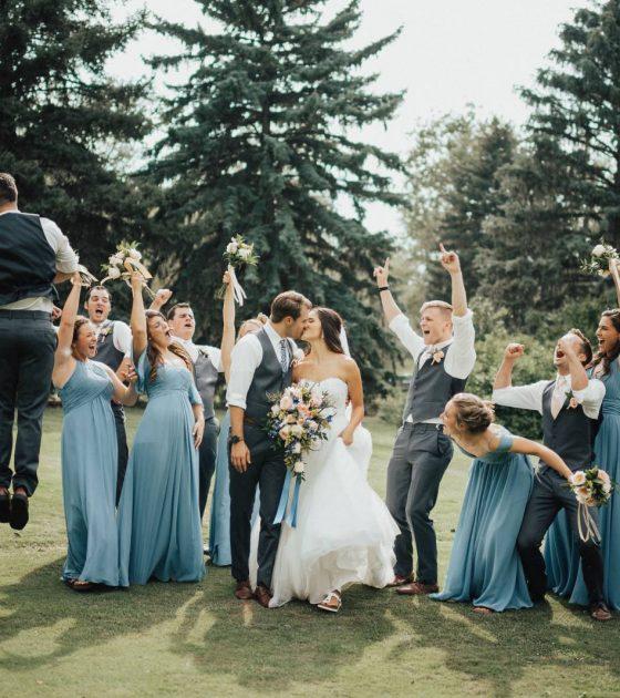Private Backyard Wedding at Haystack Hearth
