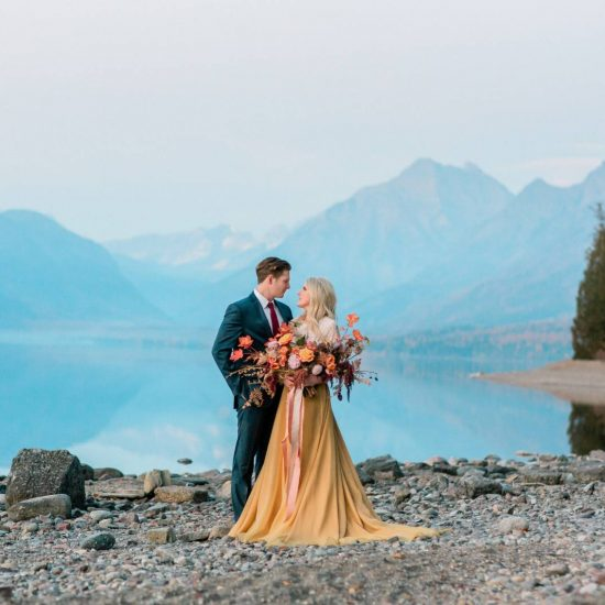 Autumn Glacier National Park Wedding Inspiration
