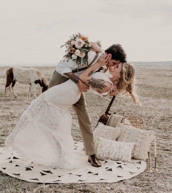 Moody Horse Inspired Wedding Shoot