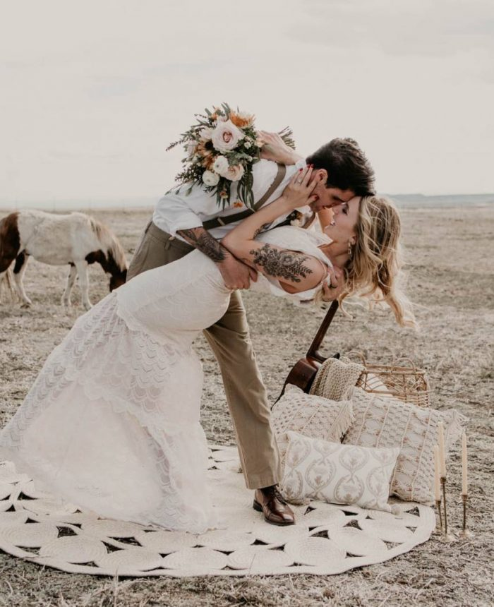 Moody Horse Inspired Wedding Shoot