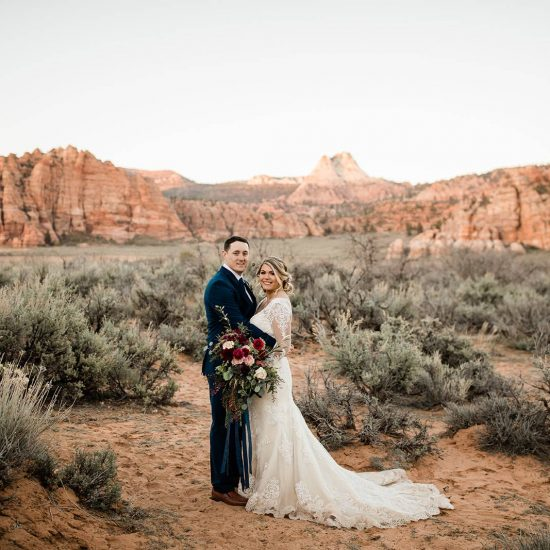 Intimate Elopement in Zion National Park