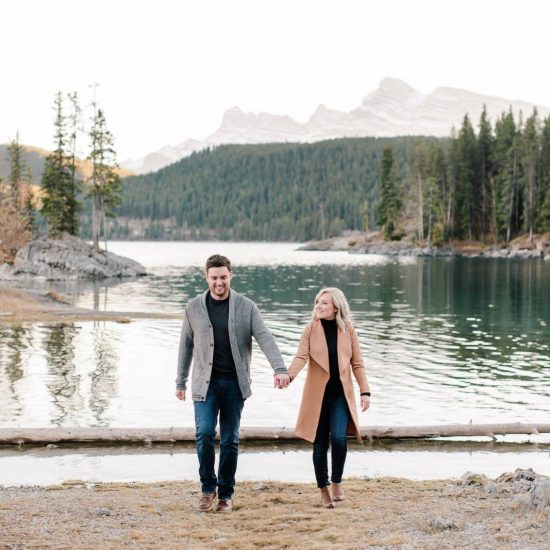 Charming Banff Engagement Session