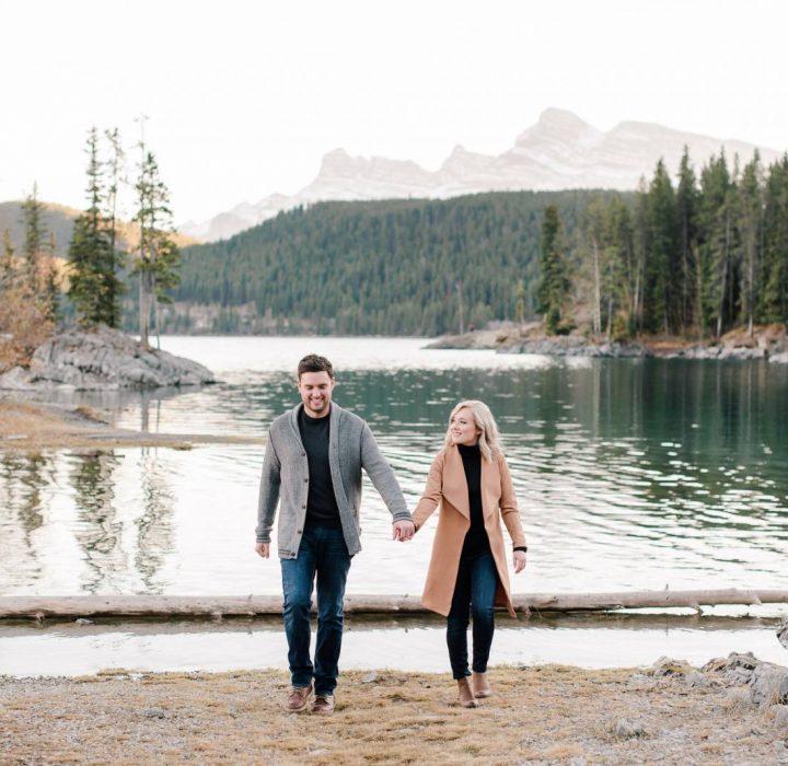 Charming Banff Engagement Session