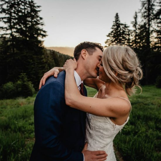 Intimate Sandpoint Idaho Elopement