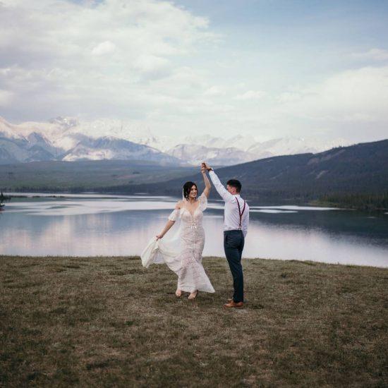 Romantic Jasper Elopement Inspiration