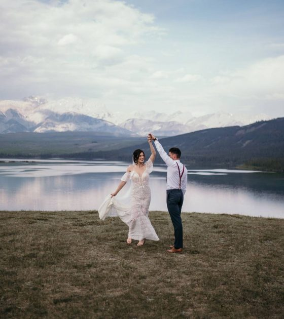 Romantic Jasper Elopement Inspiration